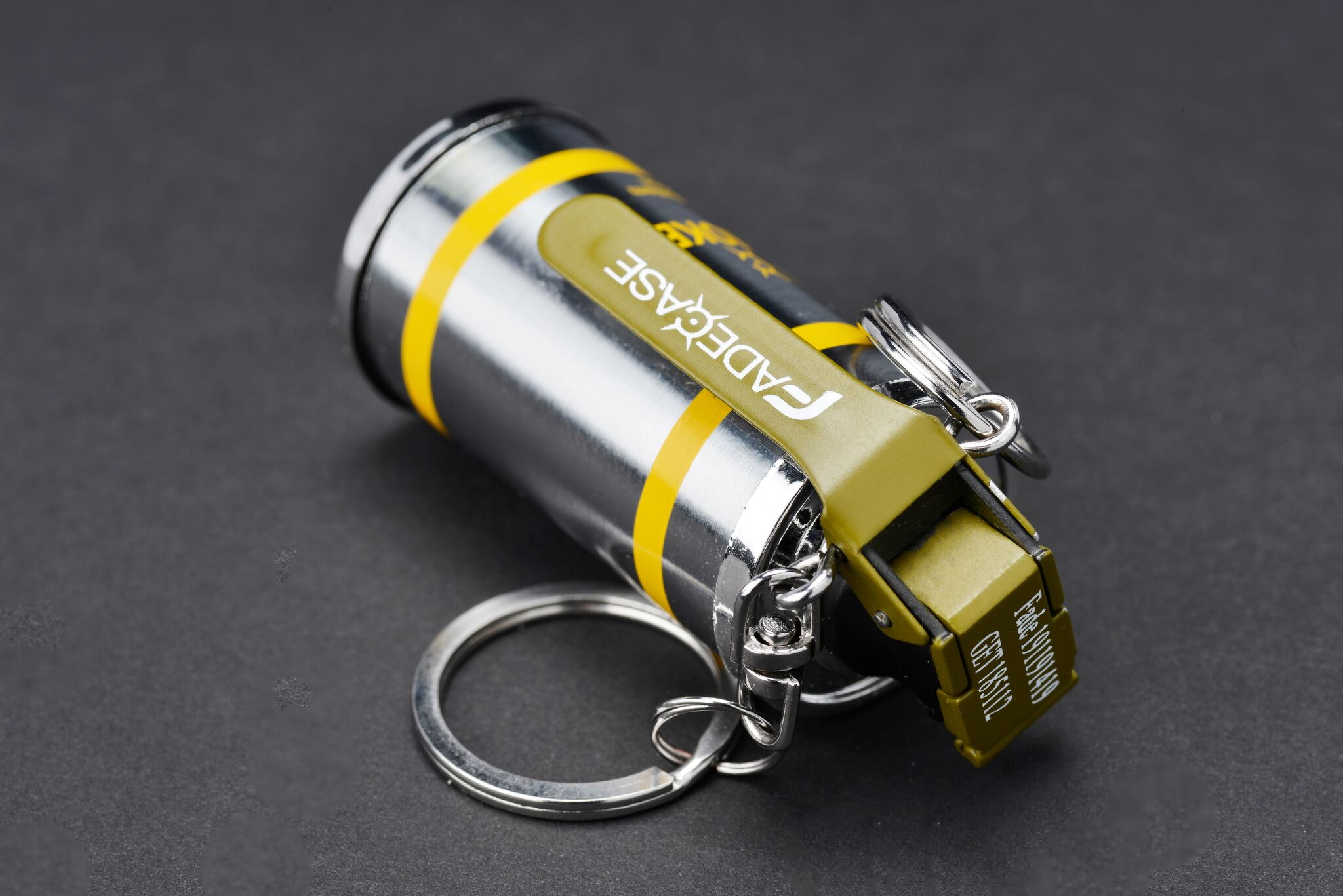 Keychain Lighter Smoke Fadecase